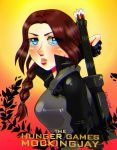 katniss_the mockingjay by bubblegum-girl