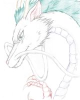 Haku-Spirited Away by FallenAngel1925