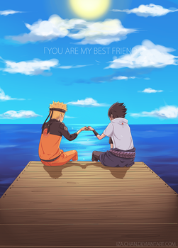 NARUTO: You are my best friend by iza-chan