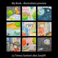 My book - Illustration preview by Sanji91
