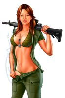 army babe by sanjun