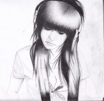 Christina Grimmie portrait. by aBookReadersLife
