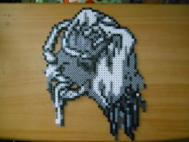 Pokemon White Hand Perler by E2x7u