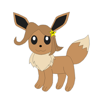 Request - Milly the Eevee by Kitsune257