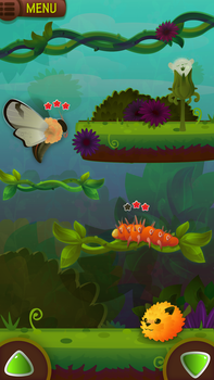 Game mockup concept - platformer by A-wild-vic-appears