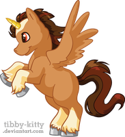 Brown Uni by Tibby-Kitty