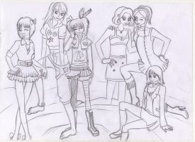 The girls group 1 by Lady-Fayble