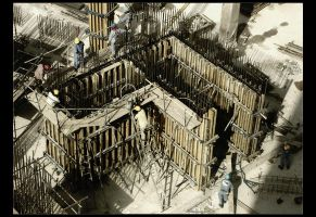 Yet We Continue To Build There by moejo