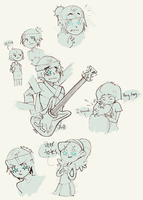 six strings of evil by onthefritz