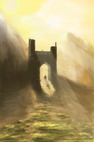 Mountain Gate - iPod Touch by jordangrimmer