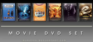 Movie DVD Icons 13 by manueek