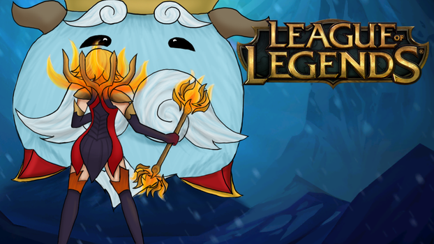 League of Legends - Poro King Lux by Sharon-dArc