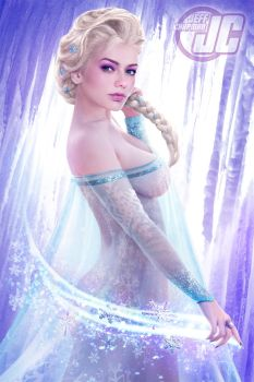Elsa Frozen by Jeffach