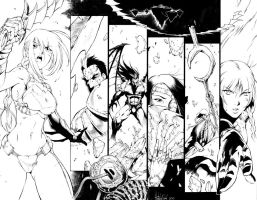 Dragon Arms Promo Inked by Dhutchison