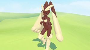 MMD Lopunny by KingdomHeartsNickey