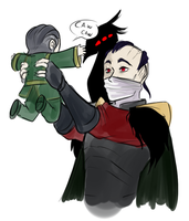 Daddy Swain by Mikkynga