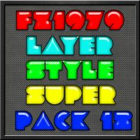 Super pack layer style 12 by FZ1979