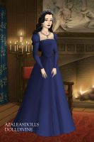 Anne Boleyn-Blue Dress by EriksAngelOfMusic22