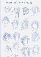 Visual kei hair styles by genshiken-rj