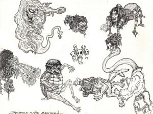 Japanese Myth Monsters