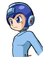 MegaMan Practice 1 by rongs1234