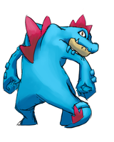 Feraligatr by o0Mythius0o
