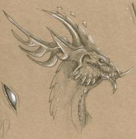 Toned Paper Sketch #1 by DelusionalPuffball