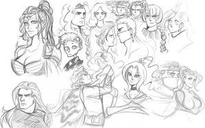 ffiv - sketches by spoonybards