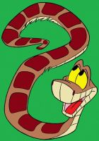 Kaa The Snake by SwirlyEyesHypnotize