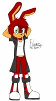Flames the Rabbit  by Jc-the-penguin