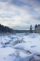 Frozen Stream by DeingeL