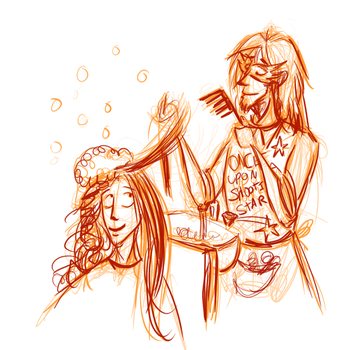 Orion Does Pretty Hair by frisca-freak