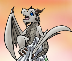 Paarthurnax Extra Huggable by Edofenrir
