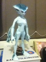 Zelda: Ocarina of Time Princess Ruto Papercraft by bratchny