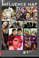 Influence map - Iury Padilha by iurypadilha