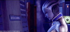 Liara Says Goodbye to Shepard by RedVirtuoso
