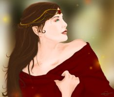 Lady Arwen of Rivendell smaller by Lost-in-Hogwarts