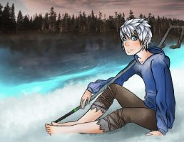 Jack Frost Commission by EveeEverwolf