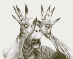 pale man Pan's Labyrinth by cottoncookie