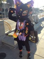 My very first fursuit that I made by BurgandyRoses