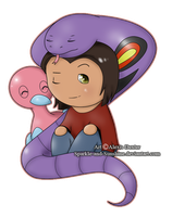 Garven Chibi - PGO Commission by Sparkle-And-Sunshine