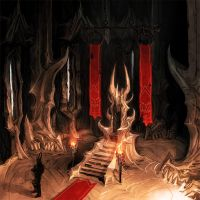 overlords throne by michalivan