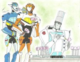 they love your energon cake pops TFA by ailgara