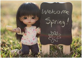 Welcome, Spring! by RodianAngel