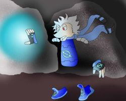 Through the dark cave (AT) by Lady-ALTernate