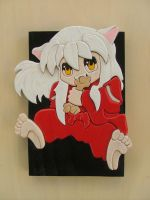Inuyasha, Chewing Bone by RamageArt