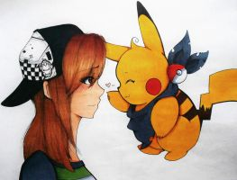 Commish: PikaPoke by toegetic
