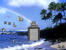 Super Mario Land 2: The Ocean by KillingRaptor