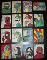 Sketch Cards by ShadowMaginis