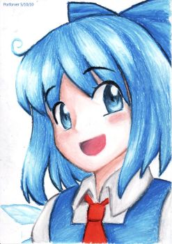 Cirno by Porforever